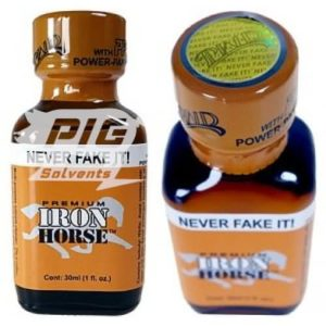 Iron Horse PWD 30ml with pig solvent logo
