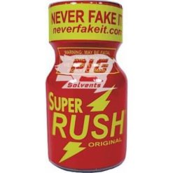 super rush 10ml with pig solvent logo