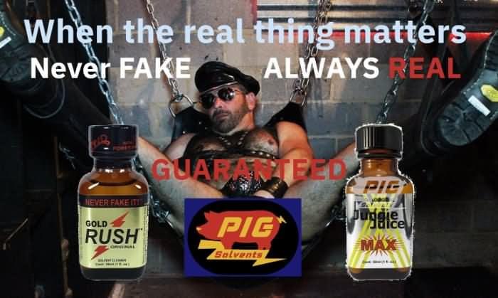 Scott Spears Poppper Pig Solvents