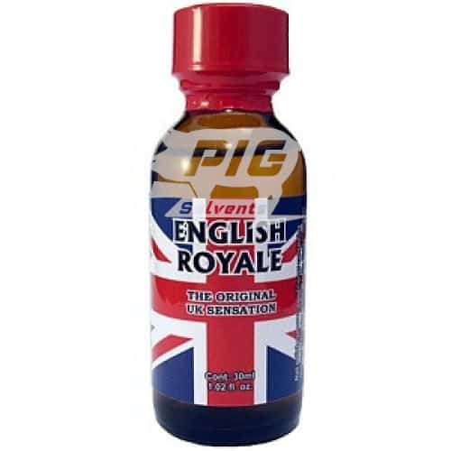 english royal 30ml Large with pig solvent logo