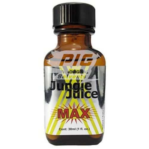 jungle juice max 30ml large with pig solvent logo
