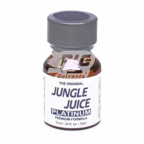 jungle juice platinum 10ml with pig solvent logo