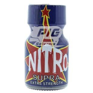 Nitro Supra 10ml with pig solvent logo